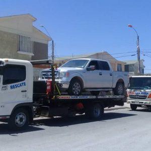Remolque y traslado de vehículos livianos.